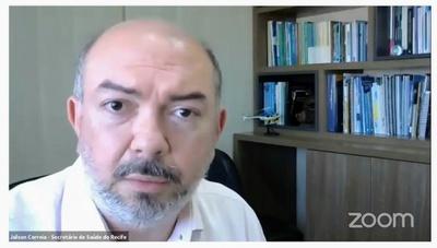 Jailson Correia vê melhora em curva da pandemia, mas ressalta importância do isolamento
